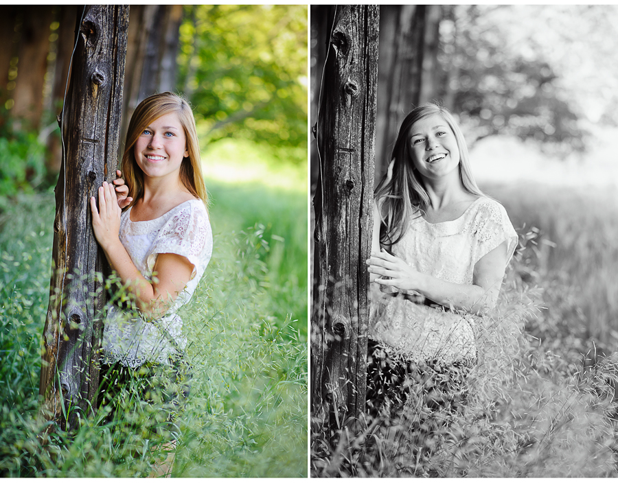2013 Senior Portrait session, L'Anse, MI on farm