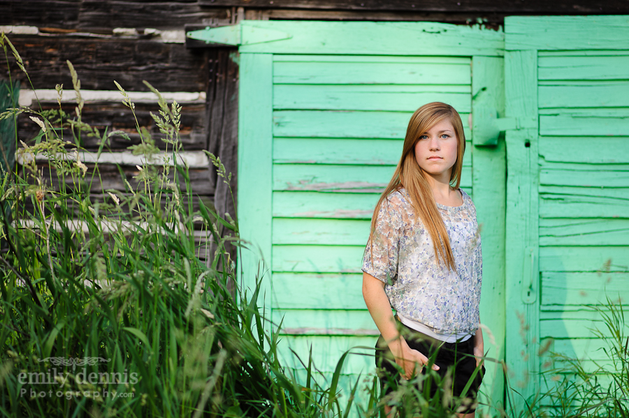 2013 senior portrait location, L'Anse, MI