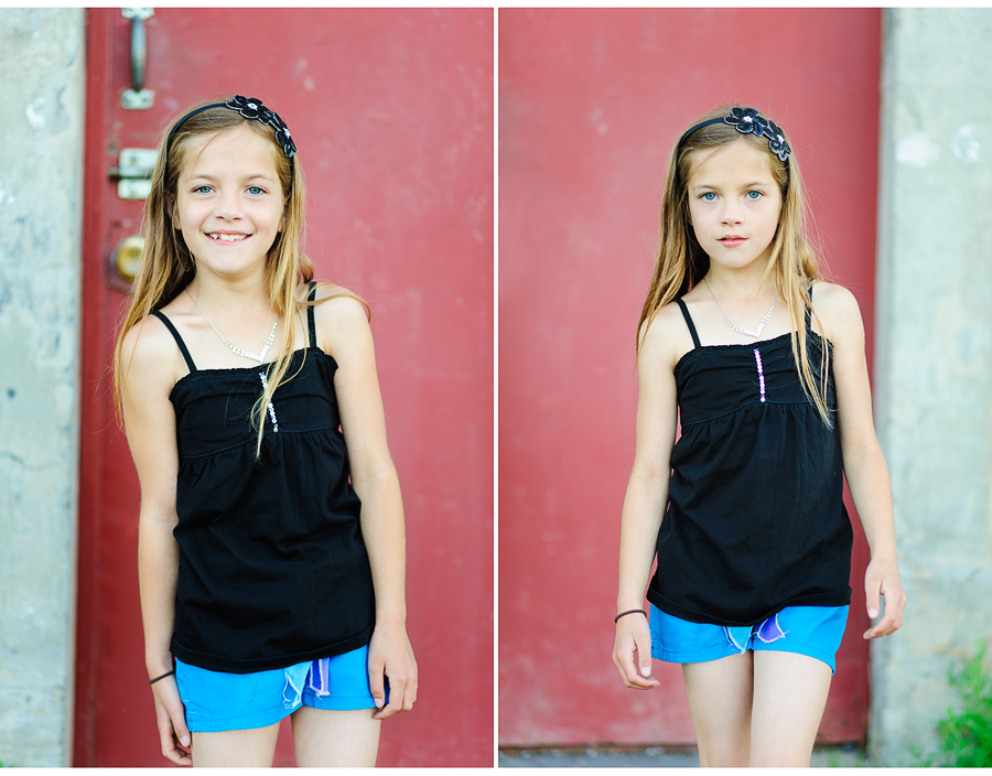 8 year old portraits