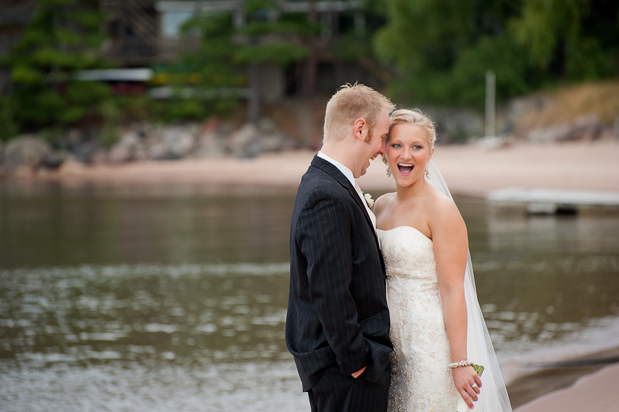 Marquette, MI wedding portraits
