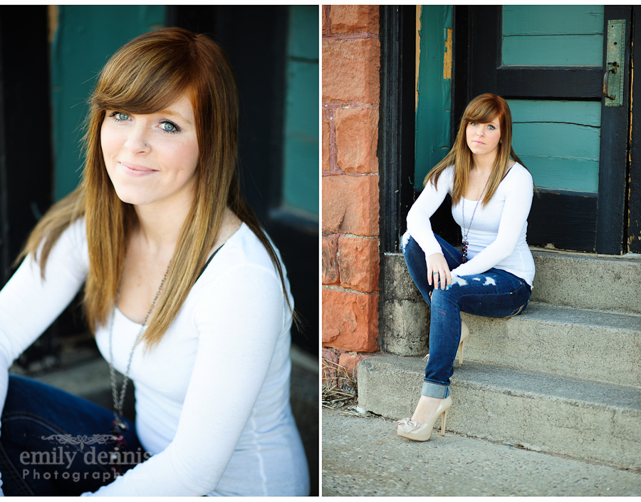 2012 Houghton senior portraits