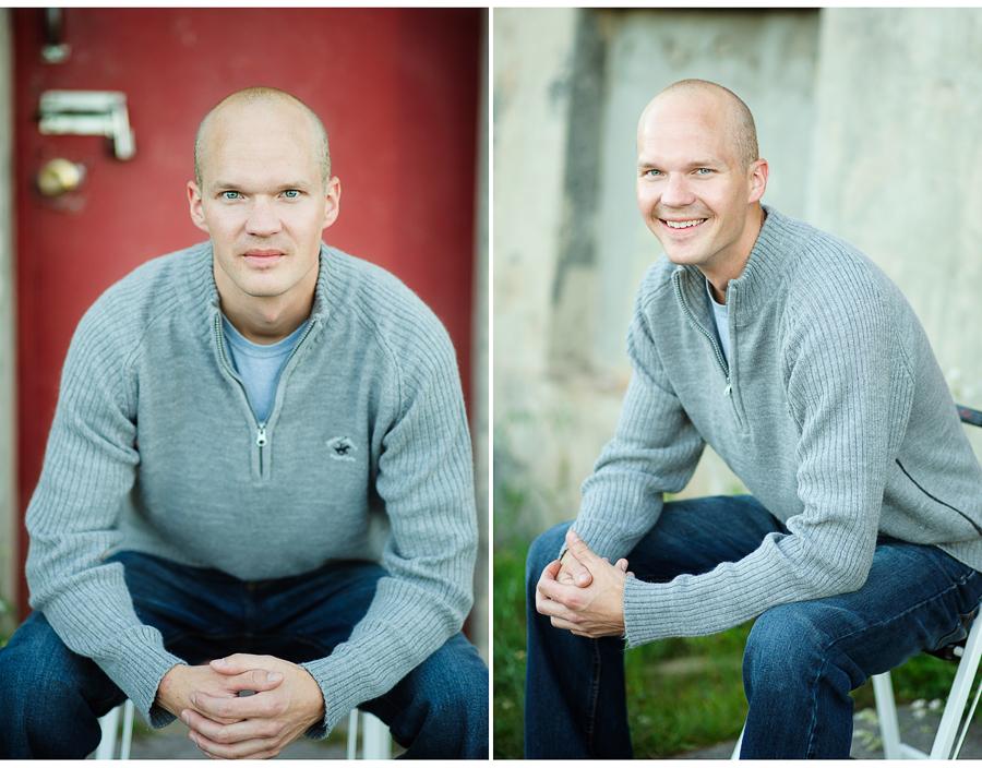 Portraits of Wade in Hancock, MI
