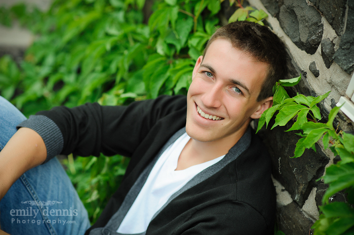 Houghton High School Senior boy