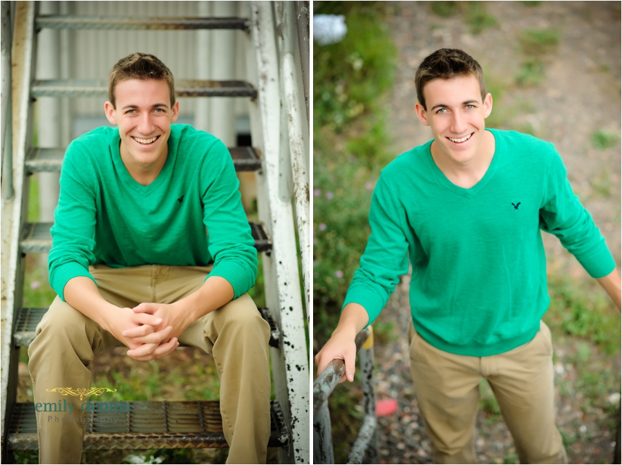 Houghton High School senior boy portraits