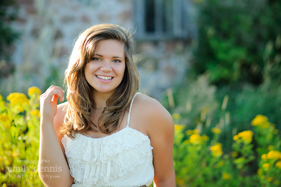 2013 Dollar Bay senior girl portrait